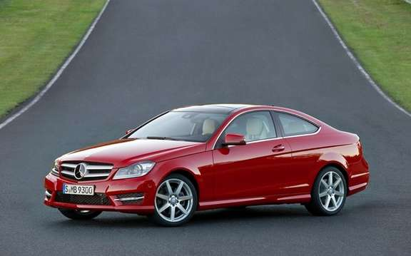 Mercedes-Benz C-Class Coupe 2012: A silhouette very well done