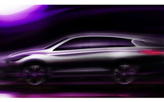 Infiniti JX 2012: From Pebble Beach in Los Angeles