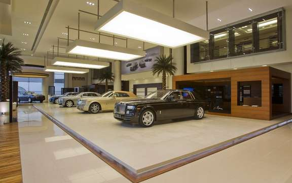 Rolls-Royce opens its most luxurious concession