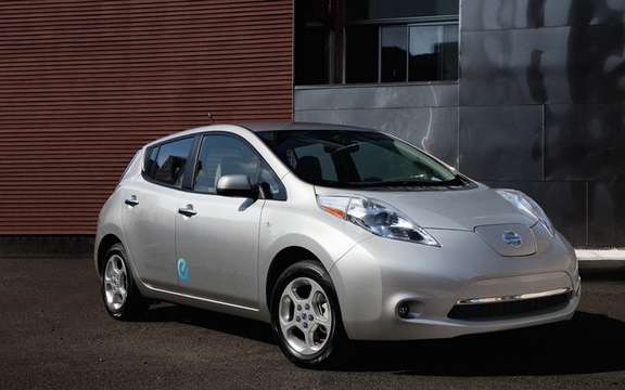 2011 Nissan LEAF: charged from $ 38,395