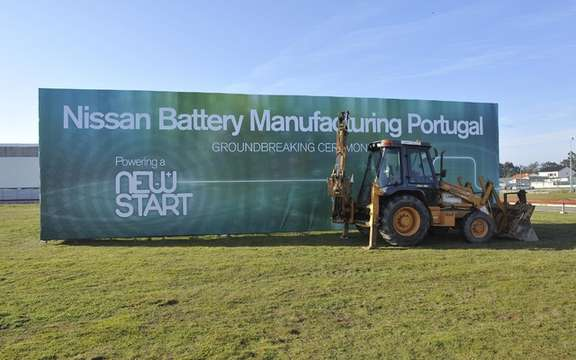 Nissan begins construction of its battery plant in Portugal