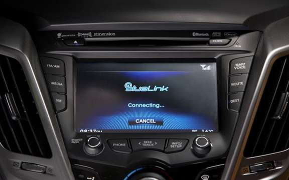 Hyundai presents its system BlueLink
