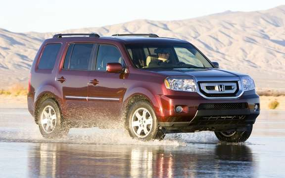 Honda Pilot 2011: Recall of about 442 vehicles in Canada