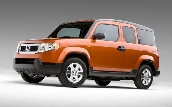 Honda Element: End of Production ANNOUNCED