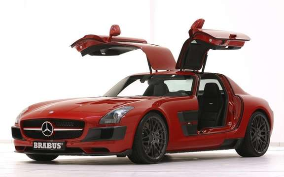 Mercedes-Benz SLS AMG Brabus PREPARED BY picture #1