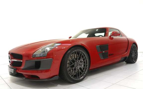 Mercedes-Benz SLS AMG Brabus PREPARED BY picture #4