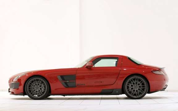 Mercedes-Benz SLS AMG Brabus PREPARED BY picture #5
