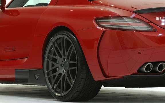 Mercedes-Benz SLS AMG Brabus PREPARED BY picture #8