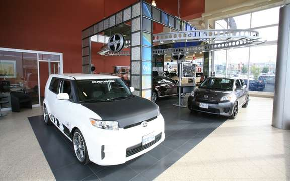 Scion Canada confirms the addition of 40 new dealerships next spring