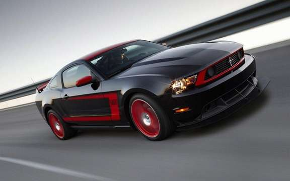 Ford Mustang Boss 302 Laguna Seca: From the track to the road