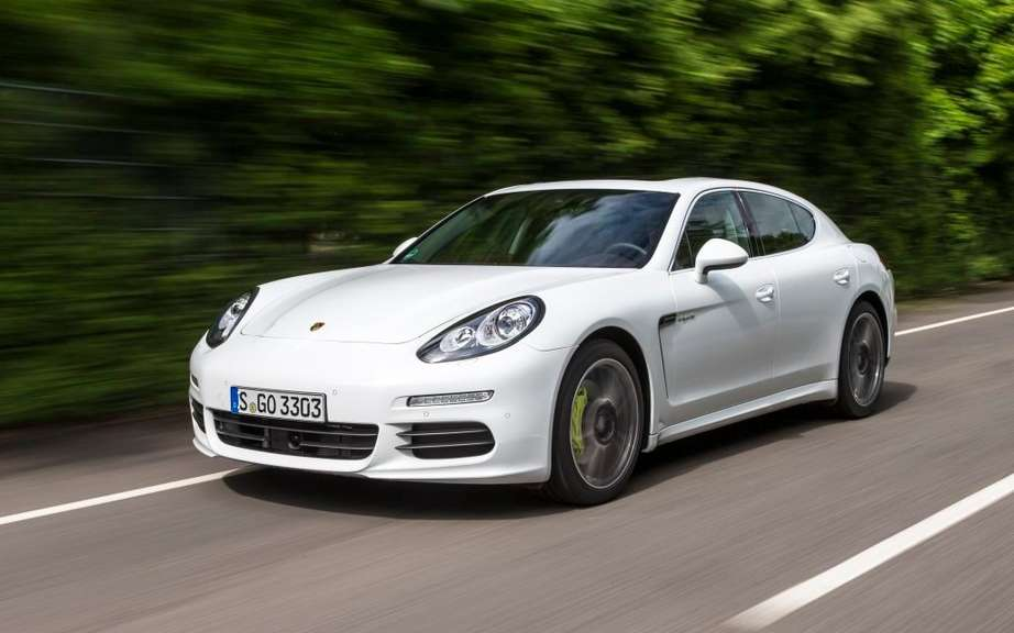 Porsche Panamera is a small envisaged picture #3