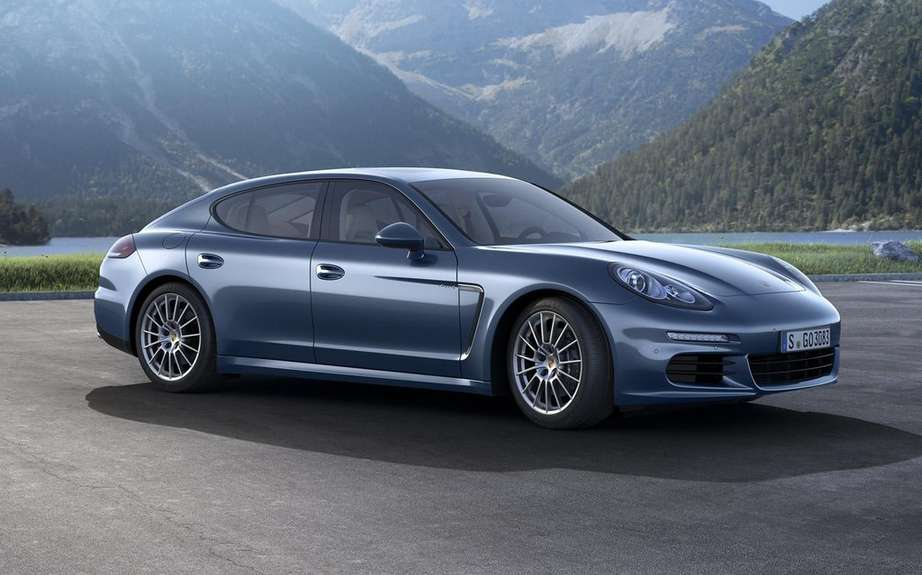 Porsche Panamera is a small envisaged picture #4