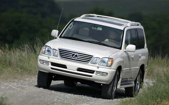 Lexus LX 470 2003 2007: A big 520 recalled vehicles in Canada