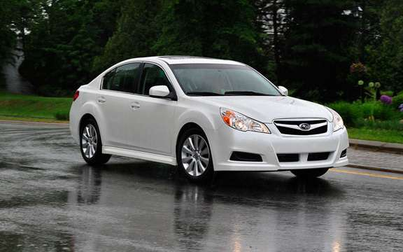 Subara Canada unveiled the 2011 Legacy prices
