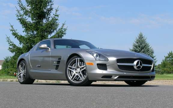 Mercedes SLS AMG E-Cell: Already in prototype form