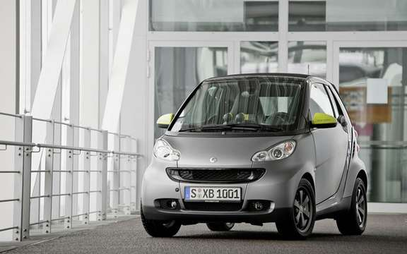 smart fortwo edition greystyle: Only 50 copies for Canada
