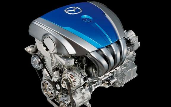 Mazda presents its new energy efficient motors SKY picture #2