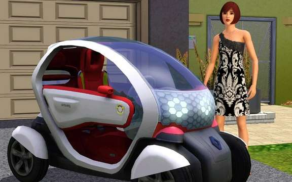 Renault and Electronic Arts announced an exclusive agreement with the SIMS 3