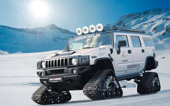 Hummer H2 Bomber: The SUV Crawler