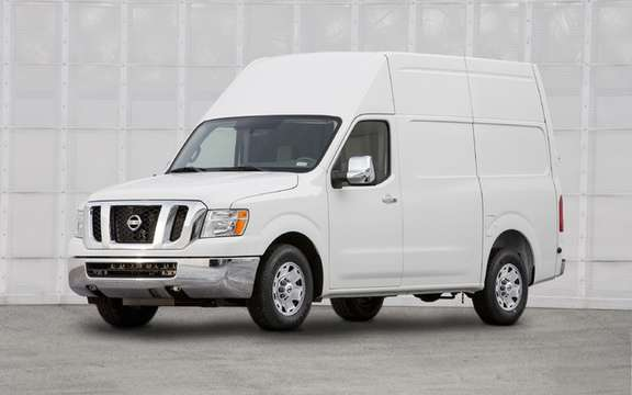 Nissan NV 2011: Their first vehicle business utility America picture #1