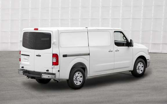 Nissan NV 2011: Their first vehicle business utility America picture #2
