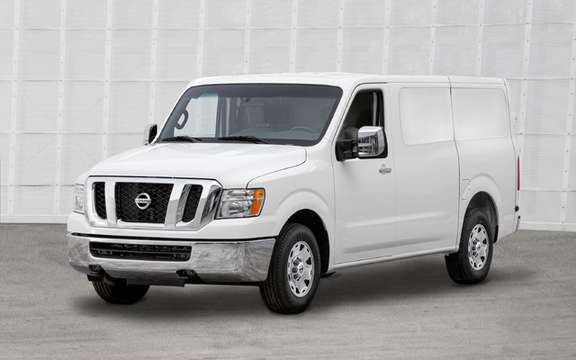 Nissan NV 2011: Their first vehicle business utility America picture #3