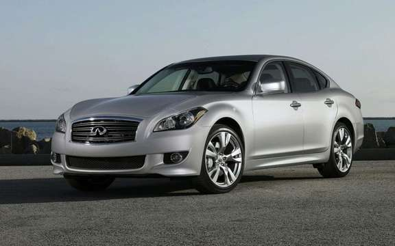 Infiniti Canada announces pricing for its new luxury sedan 2011 M37 and M56 picture #1