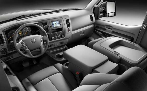 Nissan NV 2011: Their first vehicle business utility America picture #6