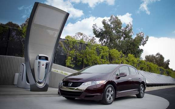 Honda recently operated a service station solar hydrogen
