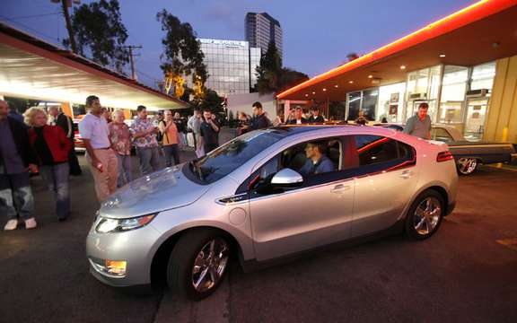 Chevrolet Volt: in search of a horn