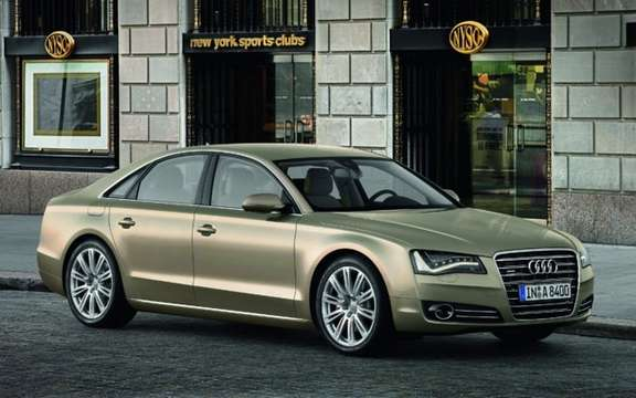 2011 Audi A8 unveiling global internet