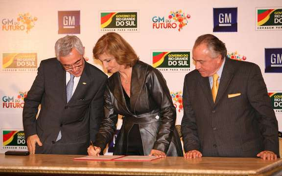 General-Motors of Brazil, is investing 1 billion dollars fine