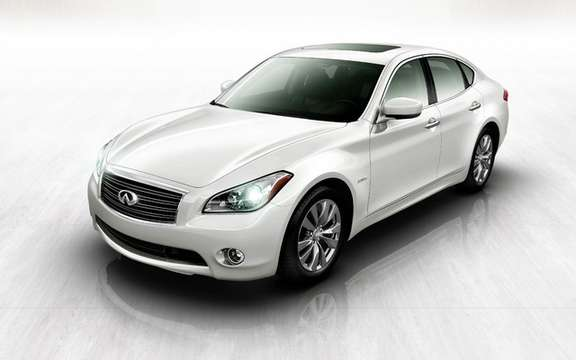 Infiniti M35 Hybrid: First Hybrid model of the brand