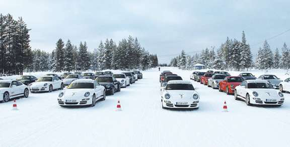 Porsche Canada launches campaign winter full marketing