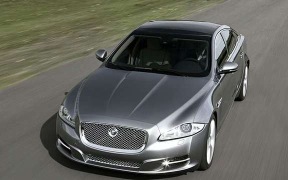 Jaguar XJ 2010, here is the new flagship of the brand Columbia