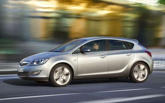 Opel / Vauxhall Astra 2010, the European model finally unveiled