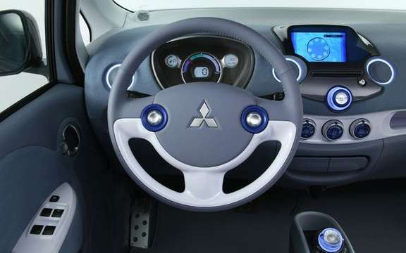 Mitsubishi i-MiEV electric propulsion is available from November 2009 in Canada picture #2
