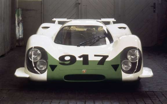 Porsche celebrates the 40th anniversary of 917 picture #2