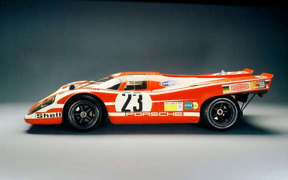 Porsche celebrates the 40th anniversary of 917 picture #3