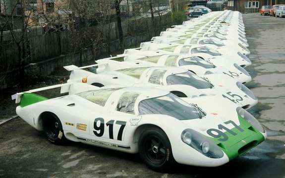 Porsche celebrates the 40th anniversary of 917 picture #8