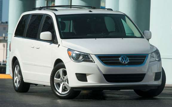 Volkswagen Canada revised its sales targets for the Routan