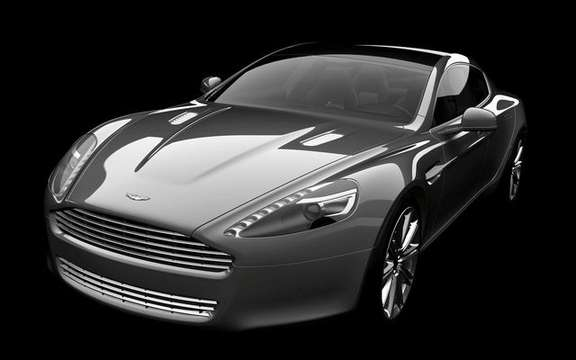 Aston Martin Rapide, presentation without comment