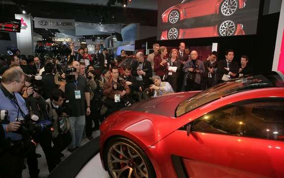 Auto Shows, the crisis hit severely