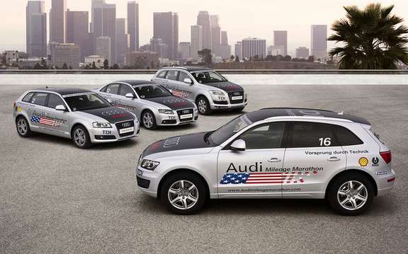 The Audi Mileage Marathon 'return TDI in America