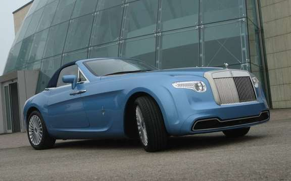 We present the Pininfarina Rolls Royce Hyperion picture #1