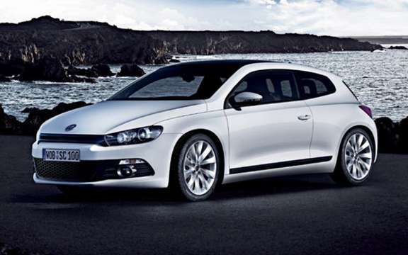 VW Scirocco, small opening to America