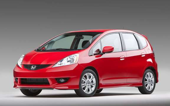 New 2009 Honda Fit at the same price in 2008!