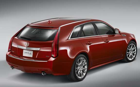 What's New Cadillac CTS Sport Wagon with SRX 2010 and picture #3