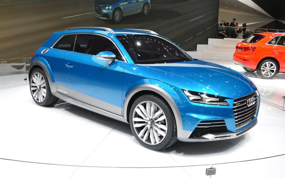 Audi recorded the names SQ2, SQ4, Q9 and f-tron