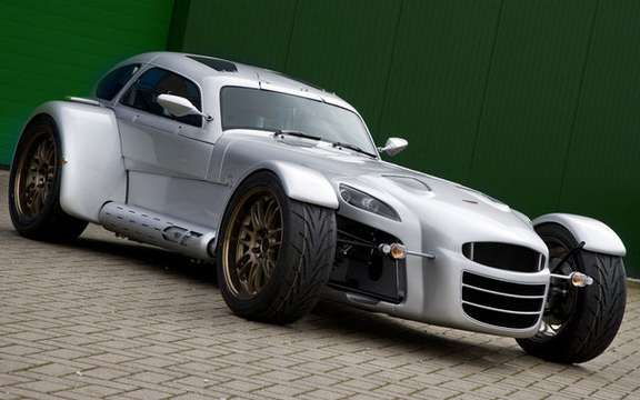Start of production of the Donkervoort D8 GT Cup